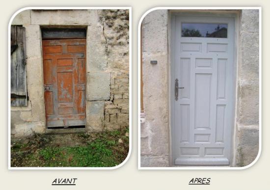 Menuiserie ebenisterie ericdrai restauration - Restaurer une vieille porte en bois ...