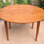 table ronde  rénovée